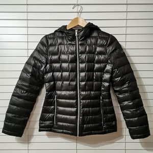 Calvin Klein Hooded Down Puffer Jacket